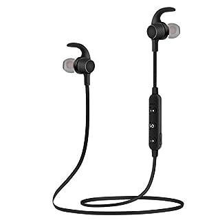 SYW Bluetooth Headset Wireless Motion Version magnetische anziehung Intelligente Stimme System 4.1 Stereo bilateralen Hals hängen Ohr artein
