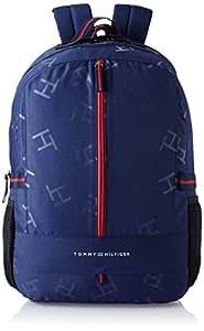 4f2b030a13 ... Tommy Hilfiger Alaska Polyester 24 Ltrs Navy Laptop Backpack