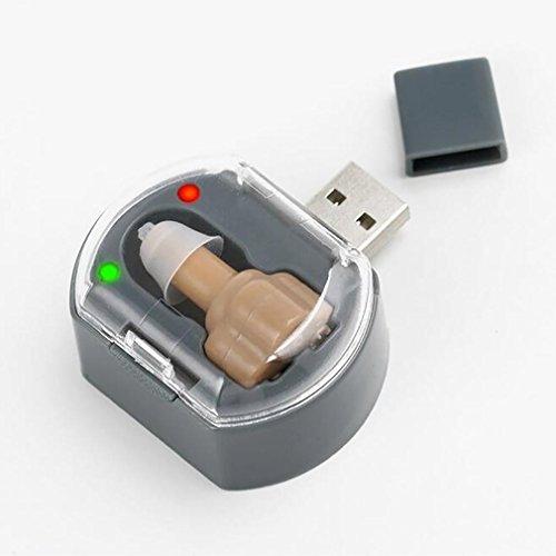 Ll-apparecchi acustici invisibili a volume regolabile mini per anziani con perdita dell'udito