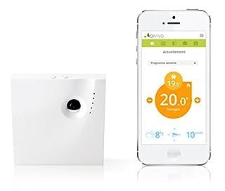 Qivivo Thermostat Connecté pour Smartphone, version gaz/fioul/bois/pompe à chaleur/électrique (contact sec) (B00O38C17U) | Amazon price tracker / tracking, Amazon price history charts, Amazon price watches, Amazon price drop alerts