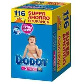 Dodot - Couche Dodot T5 116 u. - 952303