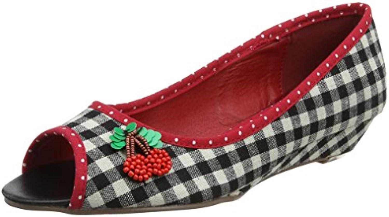 Joe Browns Cherrylicious Peep Toes, Zapatos de Tacón con Punta Abierta para Mujer