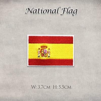 Shoppy Star - Pegatinas Bandera España Estados Unidos