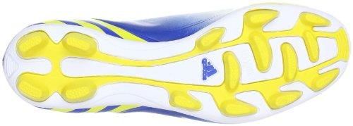adidas Predito Lz Trx Hg, Chaussures de Football Compétition homme Blanc - Blanc Running FTW/jaune Vivid S13/bleu Prime S12