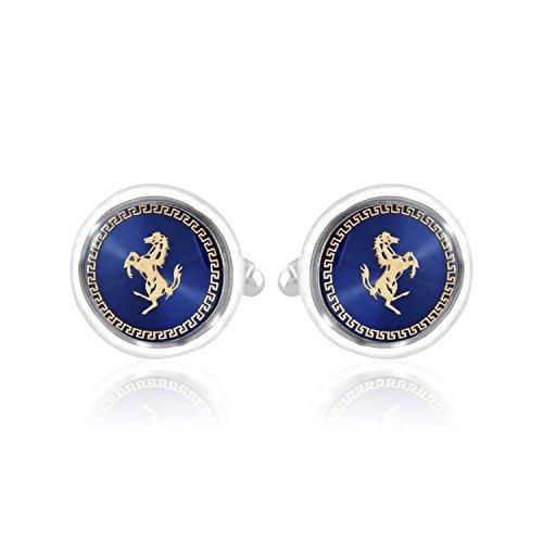 Miami Men Branded Jewellery Valentine Gifts Stylish Silver Shirts Blazer Blue silver...