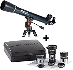 Celestron Astromaster Lt 70Az Refractor Telescope + Astromaster Accessory Kit