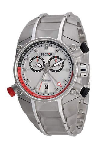 Sector Herren-Armbanduhr Chronograph Quarz R3273695215