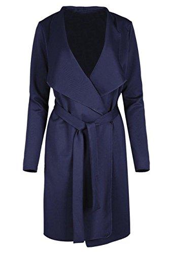 Belted Check Dress (Funky Fashion Shop Damen Rock Gr. 44, navy)
