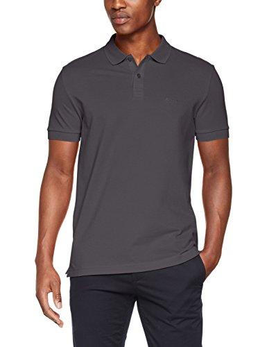 BOSS Herren Poloshirt Piro, Grau (Grey 020), X-Large (Herstellergröße: XL)