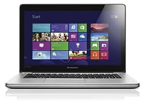 Lenovo IdeaPad U410 14-inch Touchscreen Ultrabook - Graphite (Intel Core i7 2GHz, 4GB RAM, 500GB HDD, LAN, WLAN, Bluetooth, Webcam, Nvidia Graphics, Windows 8)