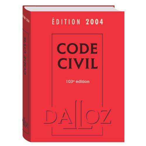 Code civil 2004