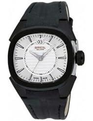 Breil Milano BW0417 - Reloj de caballero de cuarzo, correa de piel color negro