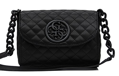 GUESS G Lux Mini Crossbody Black (Mini Damen Guess)