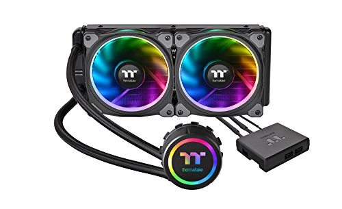 Thermaltake Floe Riing RGB 240 TT CL-W157-PL12SW-A Premium All-In-One Wasserkühlung - Haupt-cpu