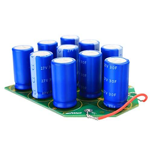 ZHENWOFC 27V 3F Super Farad Kondensatoren Modul Motorstart Hardware-Ersatzteile -