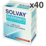 Set 40 SOLVAY Bicarbonato 250 gr. - Tintes de blanqueo de perborato