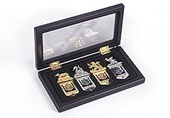 Idea Regalo - Noble Collection NN7039 - Harry Potter Set di Segnalibri delle 4 Case