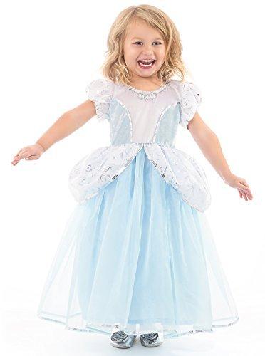 Little Adventures Deluxe Cinderella Kleid Kostüm für Mädchen - Klein (1-3 ()