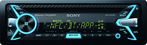 Sony MEX-N5100BT - Radio CD/MP3 para coches (220W, USB, AUX, NFC), neg