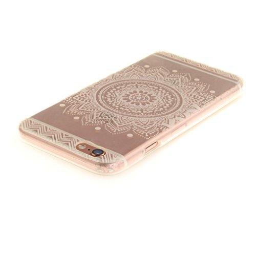 A9H iPhone 6/6S 4.7 Hülle mit Kameraschutz transparent dünne Schutzhülle Case Cover für iPhone 6/6S aus flexiblem TPU -27HUA 05HUA