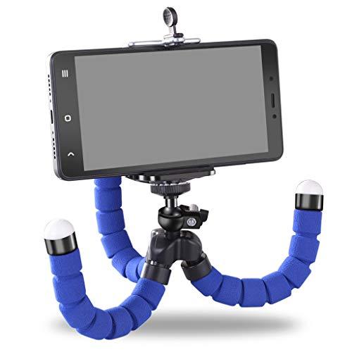 YONG FEI Handyhalter - Flexibler Octopus Stativhalterung Selfie Erweiterungsständerhalterung Monopod Styling Zubehör für Handy-Kamera Handyhalter (Farbe : Red)