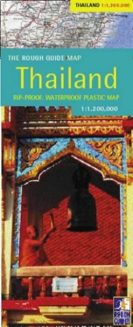 The Rough Guide to Thailand Map (Rough Guide Country/Region Map) - Guides Rough Thailand