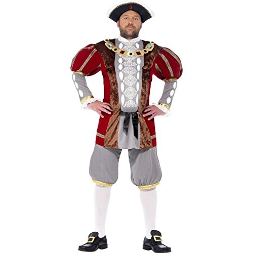 �m Renaissance Lord Tudor König Karneval Fasching Gr.XL ()