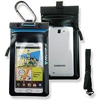 Armor-X Coque de protection étanche pour Samsung Galaxy Note/Note 2/S3/Tous les modèles Blackberry et autres smartphones de 5,3 pouces