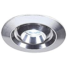 SLV SIMIT 20, 1W LED Downlight, schwenkbar, warmweiß, 15 cm Zuleitung