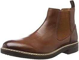 Clarks Herren Blackford Top Chelsea Boots, Braun (British Tan Lea), 43 EU