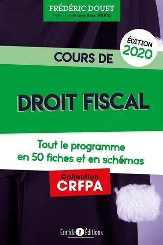 Cours de droit fiscal par Frédéric Douet