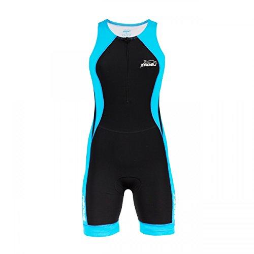 ZAOSU Women's Triathlon Racing Suit - Trisuit Einteiler Damen, Größe:XL (Racing Triathlon Womens)