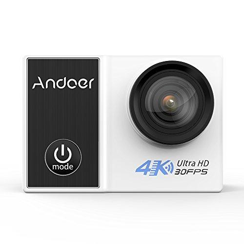 """Andoer C5 Pro 4K / 30fps Macchina Fotografica di Azione 1080P / 120fps 720P / 240fps Full HD Adottano per Ambarella A12S75 16MP WiFi Immersioni Subacquee Impermeabile 30m 2.0 """"LCD 170 Gradi DV Cam"""