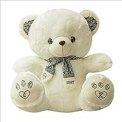 PLUSHTOYS Muñeco de Peluche Oso de Peluche Oso muñeca muñeco de Trapo Abrazo Panda Bufanda Oso uno