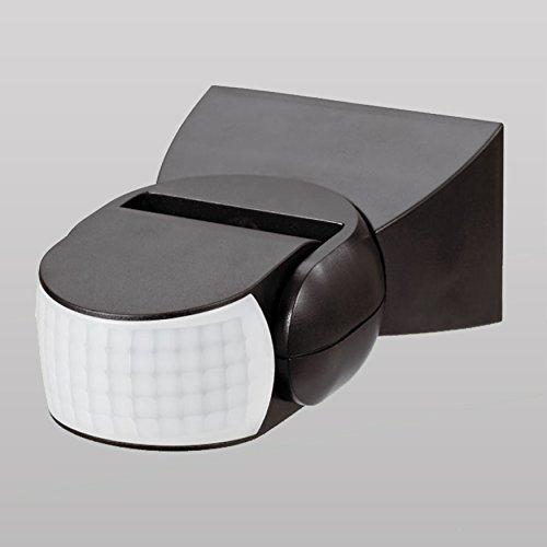 LED Me® Infrarrojos Sensor de movimiento ST15en color negro ip65techo o pared PIR 180degree Sensor de movimiento detector interruptor nuevo certificado