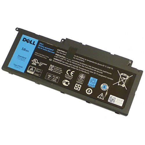 DELL 62VNH Lithium-ION (Li-ION) 3950mAh 14.8V Batterie Rechargeable - Batteries Rechargeables (3950 mAh, 58 Wh, Lithium-ION (Li-ION), 14,8 V, Noir, 1 pièce(s))