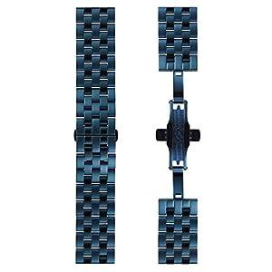 DETOMASO Uhrenarmband Milanaise Edelstahl-Armband 20mm 22mm 24mm mit Schnellwechsel Federsteg