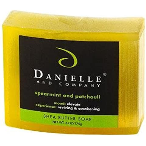Danielle and Company Spearmint & Patchouli Organic Bar Soap by Danielle and Company