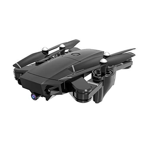 HDRC H13 Faltbare 5MP1080P HD Kamera Vier-Achsen-Drohne Super Mini Drohne Höchenhaltung,Kopflos,360°Überschlagen,Palmgröße Drohne, RC Quadrocopter,Geschenke geeignet für Anfänger (Schwarz) (Einen Sie Rc-flugzeug Bauen)