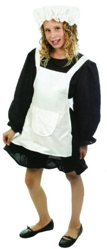 Value Costume: Victorian Maid (Small 4 - 6 YRS) - Victorian Maid Kostüm
