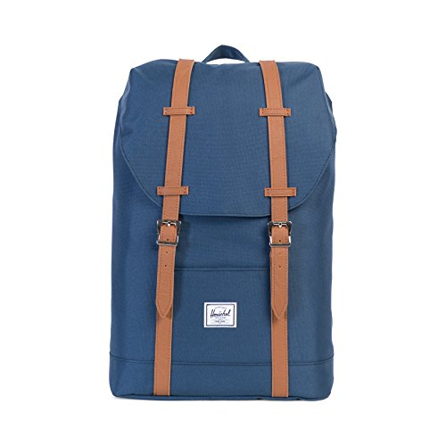 herschel-supply-co-retreat-mid-volume-backpack-navy-tan-synthetic-leather