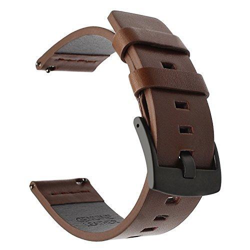 TRUMiRR cinturino da polso di rilascio rapido della fascia di orologio dell'annata di 20mm dell'annata per Samsung Gear S2...