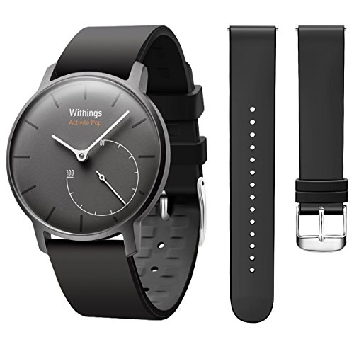 Hanlesi Compatibile Withings Steel HR Cinturino, Soft Silicone Sport Fitness Cinturini Accessorio Braccialetto di Ricambio per Withings Steel HR (7 Colori)