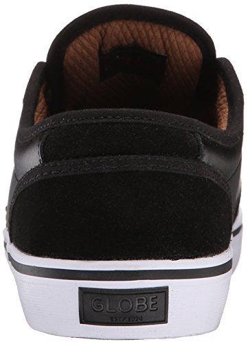 Globe Men's Motley Skateboarding Shoe, Black/Toffee, 10 M US Black/toffee