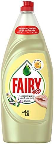 Fairy Gentle Hands Lemon Blossom Dishwashing Liquid Soap, 1.5L