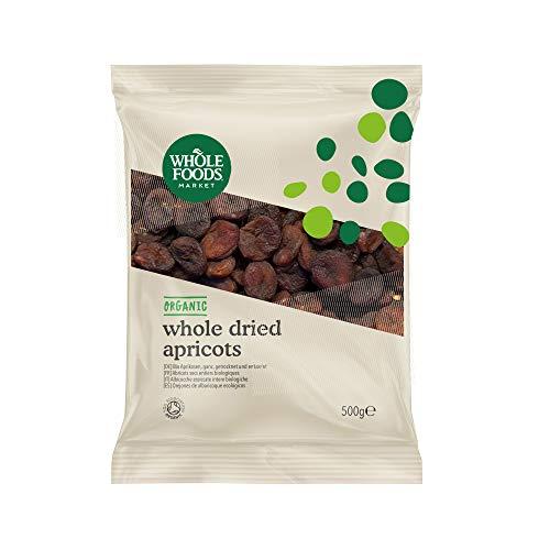 Whole Foods Market – Ganze Aprikosen, getrocknet und entsteint, aus biologischer Landwirtschaft, 500g