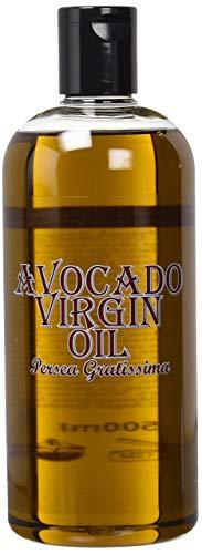 Aceite Portador Aguacate Virgen - 500ml - 100% Pura