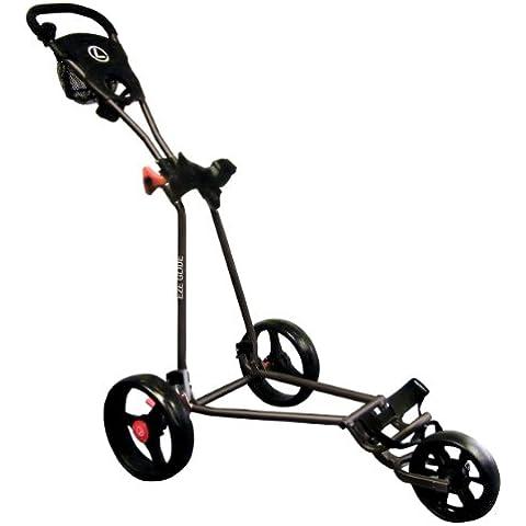 Eze Glide - Carrito de golf con 3 ruedas negro negro