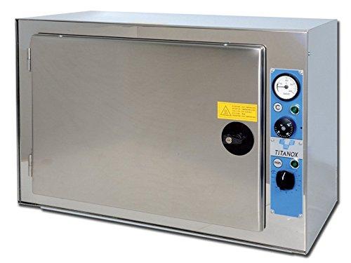 GIMA 35584 Sterilizzatrice a Secco Titanox Termoventilata, 60 L Capacità