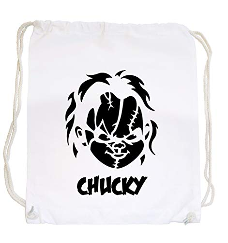 Certified Freak Chucky Face Gymsack White